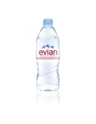Water EVIAN 6x1L