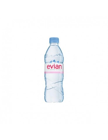 Water EVIAN 6x50CL
