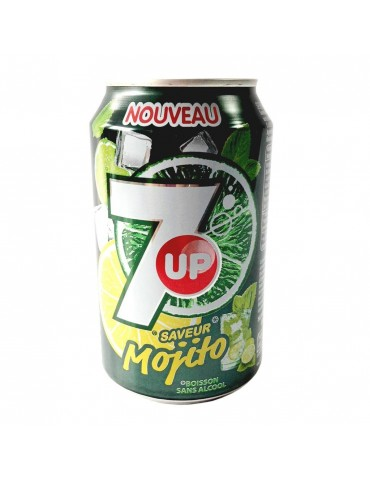 7 UP MOJITO 33 CL X 24