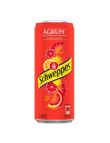 Schwepps Orange 33 CL X 24