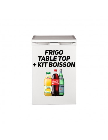 Fridge 120L+KIT BOISSONS
